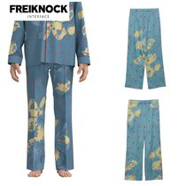 FREIKNOCK(フライノック) ルームウェア・パジャマ 人気新作★FREIKNOCK★BOWIE PAJAMA PANTS(SKY BLUE