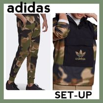 ☆Adidas☆迷彩柄 Camo All Over Print Hoodie セットアップ