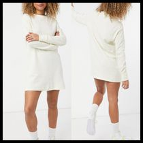 Nike essential long sleeve t-shirt dress