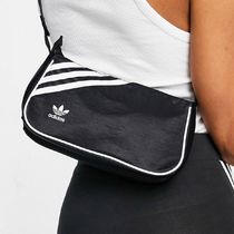 adidas Originals trefoil mini handbag in black