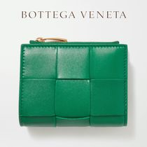 ∞∞ BOTTEGA VENETA ∞∞ Intrecciato leather ミニウォレット