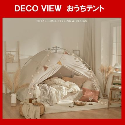 DECO VIEW(デコヴュー) テント・タープ ★DECO VIEW★おうちテント おうち時間  韓国人気 送料無料