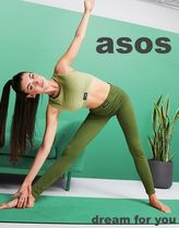 ASOS(エイソス) その他 *ASOS*4505リブのシームレスレギンス(送料/関税 込み)