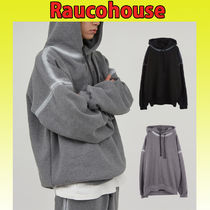 ◇RAUCO HOUSE◇ SIDE SPRAY WASHED 起毛フーディ (2色)