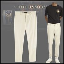【Scotch&Soda】Fave tapered fit relaxed*ウール混*チノパンツ