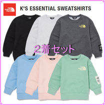 【THE NORTH FACE】K'S ESSENTIAL SWEATSHIRTS〜2着セット〜