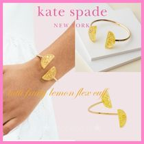 kate spade* バングル レモン*tutti fruity lemon flex cuff