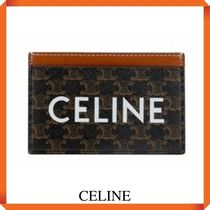 CELINE CARD HOLDER IN TRIOMPHE CANVAS