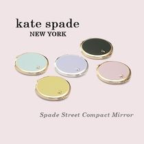 【Kate Spade】Spade Street Compact Mirror☆コンパクトミラー