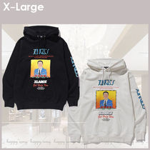 XLARGE★DO YOU FIT THIS PICTURE PULLOVERフーディ