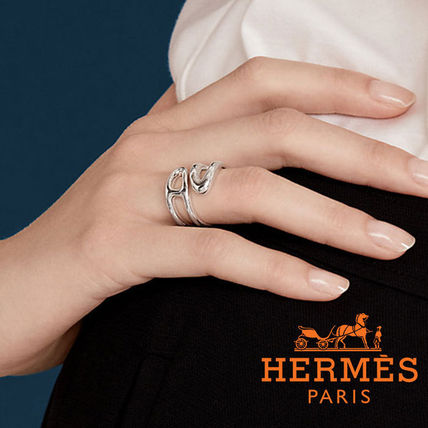 ◆HERMES◆エルメス◆Anello Chaine d'Ancre Twist リング