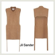 【JILSANDER】V NECK WOOL COLLAR ニット ベスト