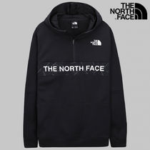 [THE NORTH FACE] TRAIN N LOGO 1/4 ZIP フーディ [公式]