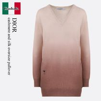 Dior cashmere and silk oversize pullover