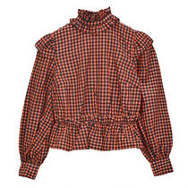 [GANNI] Cropped Blouse