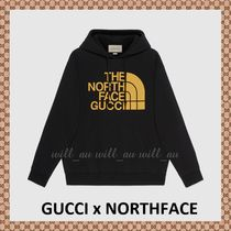 AUS発EMS配送★GUCCI x NORTH FACEコラボ★パーカー