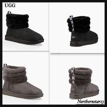 【UGG】大人気!ムートンブーツ/FLUFF QUILTED BOOT/各色