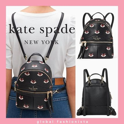 kate spade out of the woods fox mini convertible backpack