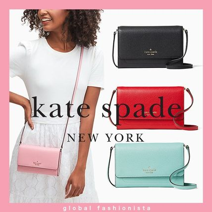 kate spade harlow wallet on a string クロスボディー