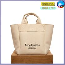 Acne(アクネ) トートバッグ 関税送料込★ACNE STUDIOS★Beige large tote bag in canvas