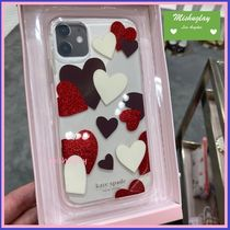 【kate spade】celebration hearts♪ iPhone 11各種対応 ★