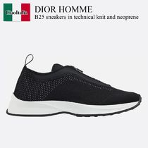 Dior Homme B25 sneakers in technical knit and neoprene