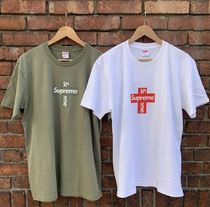 20FW Supreme Cross Box Logo Tee ボックスロゴTシャツ