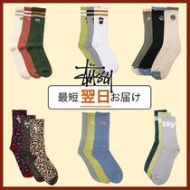 [STUSSY] Authentic Sport Sock 3 Pack ソックス3足組