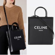 SMALL VERTICAL CABAS CELINE IN TEXTILE WITH CELINE PRINT