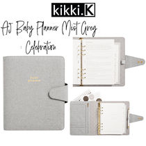 【kikki.K】A5 BABY PLANNER MIST GREY: CELEBRATION ベビー