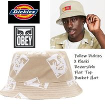 OBEY(オベイ) ハット 関税送料込★OBEY★Dickies X OBEY コラボリバーシブルハット