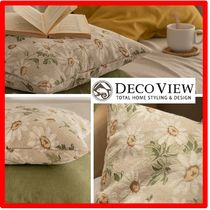 ☆韓国の人気☆【DECOVIEW】☆Daisy Jacquard Cushion Cove.r☆