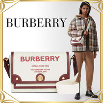 Burberry Horse ferry canvas notebook クロスボディバッグ