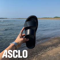 ASCLO Real Cowskin Two Slippers