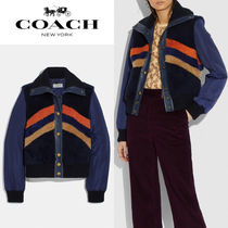 【COACH】Retro Shearling Jacket/♪関税込み