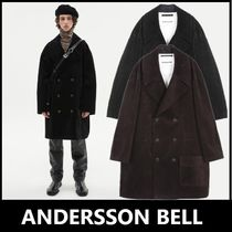 ★ANDERSSON BELL★2021新商品★OVERSIZED CORDUROY DOUBLE COAT