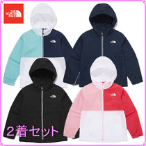 【THE NORTH FACE】K'S COMPACT AIRY EX JACKET〜2着セット〜