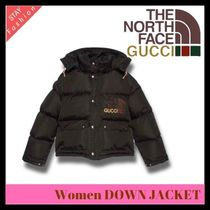 歴史的コラボ入手困難!GUCCI×THE NORTH FACE Women DOWN JACKET