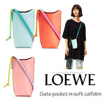 LOEWE ロエベ Gate pocket in soft calfskin【送料0/関税込】