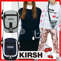 ☆韓国の人気☆【KIRSH】☆POCKET SMALL COLOR CROSS BA.G KS☆
