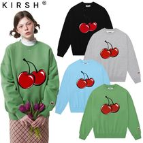 【KIRSH】21SS新作★ BIG CHERRY SWEATSHIRT 4色