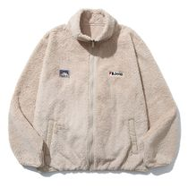 フリースジャケット ●JEEP● BASIC POLAR FLEECE ZIP-UP BEIGE