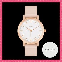 The Fifth Watches(ザ フィフス ウォッチ) アナログ腕時計 The Fifth Watches Rose Gold & Peach 38mm MelbourneCollection