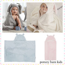 ★PotteryBarn★Faux-Fur Animal Baby Hooded Towel