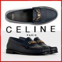 ◆CELINE◆Luco Maillons Triomphe Loafer NAVY◆正規品◆