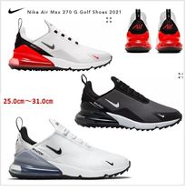 【NIKE】ゴルフシューズ Nike Air Max 270 G Golf Shoes 2021