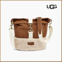 【UGG】EMALYN BUCKET SHEEPSKIN☆モコモコ Chestnut☆