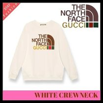 歴史的コラボ入手困難!GUCCI×THE NORTH FACE WHITE CREWNECK