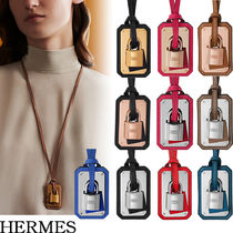 【◎安心◎直営店買付】HERMES O'Kelly pendant, large model
