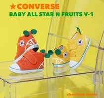 国内発 ベビー☆CONVERSE☆BABY ALL STAR N FRUITS V-1 フルーツ